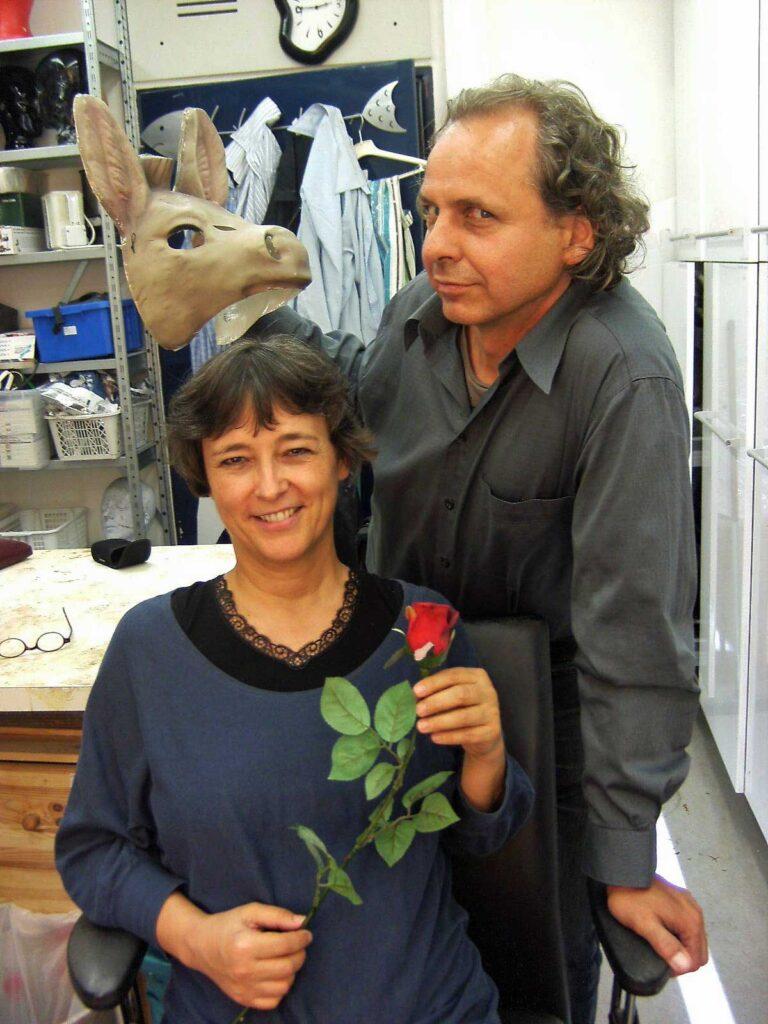 Sibylle Schleicher und Gunther Nickles